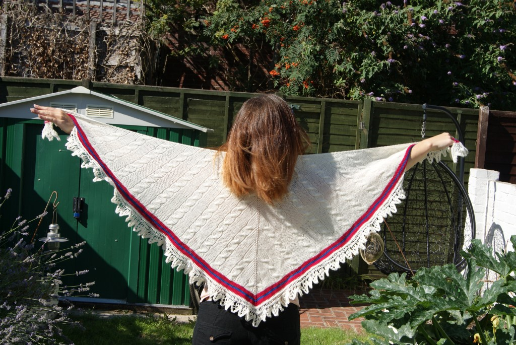 Cricket shawl