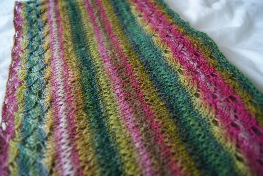 http://www.ravelry.com/projects/fak/spring-lace-infinity-scarf