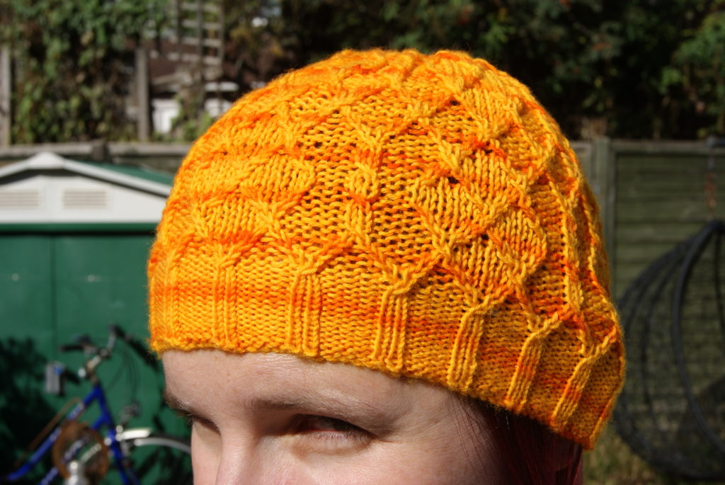 http://www.ravelry.com/projects/fak/diamond-hat-2