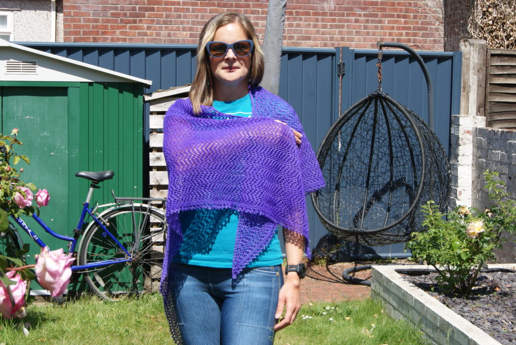 Lightning shawl