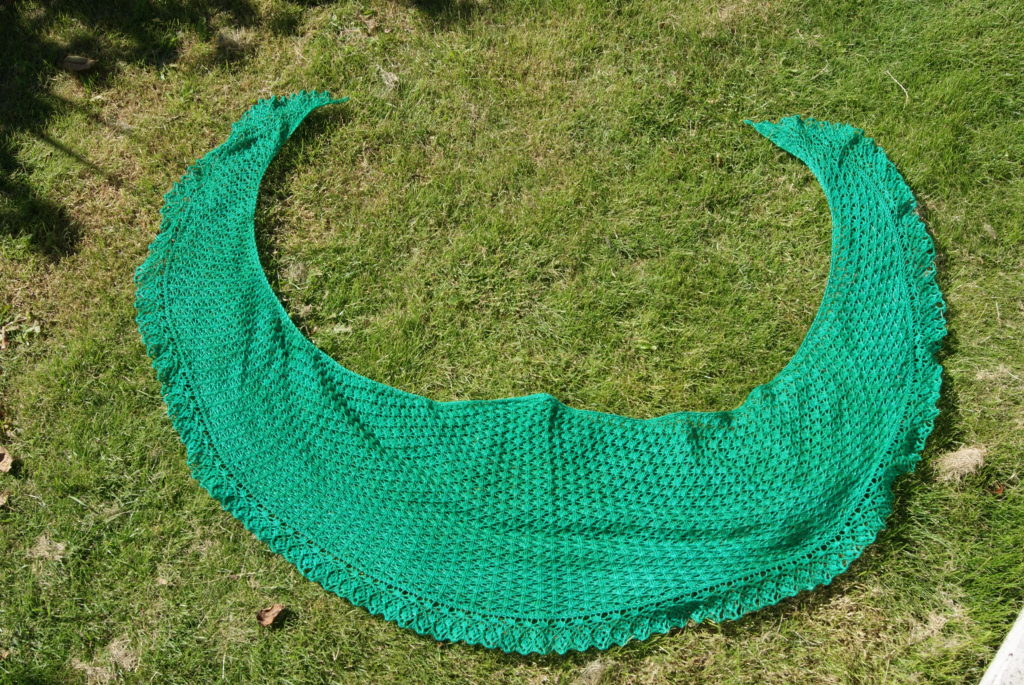 Neowise shawl
